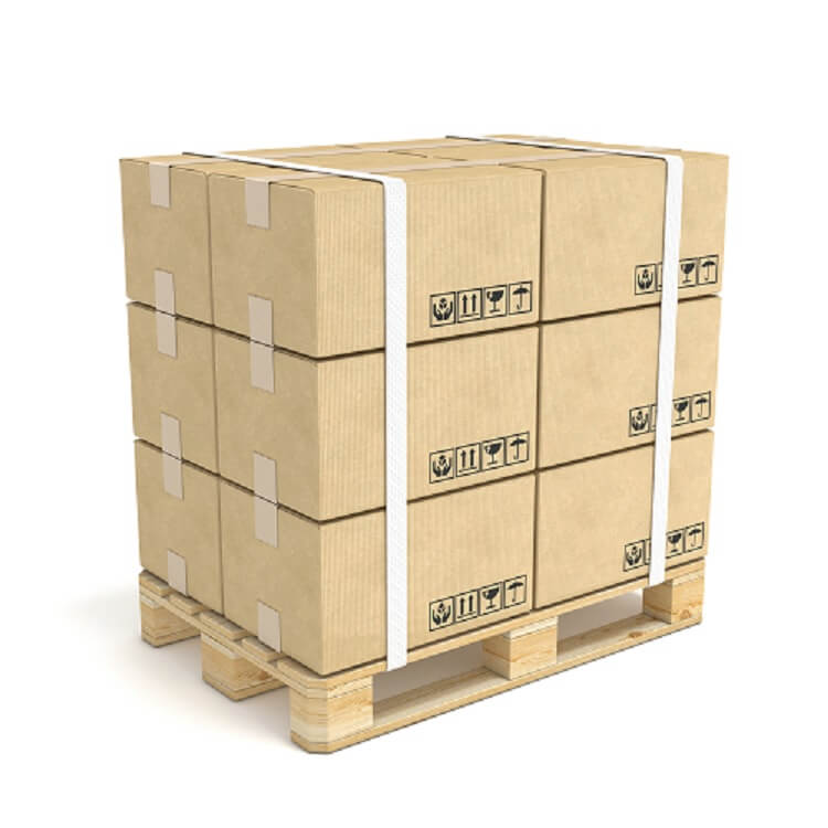 Boxes on Pallet